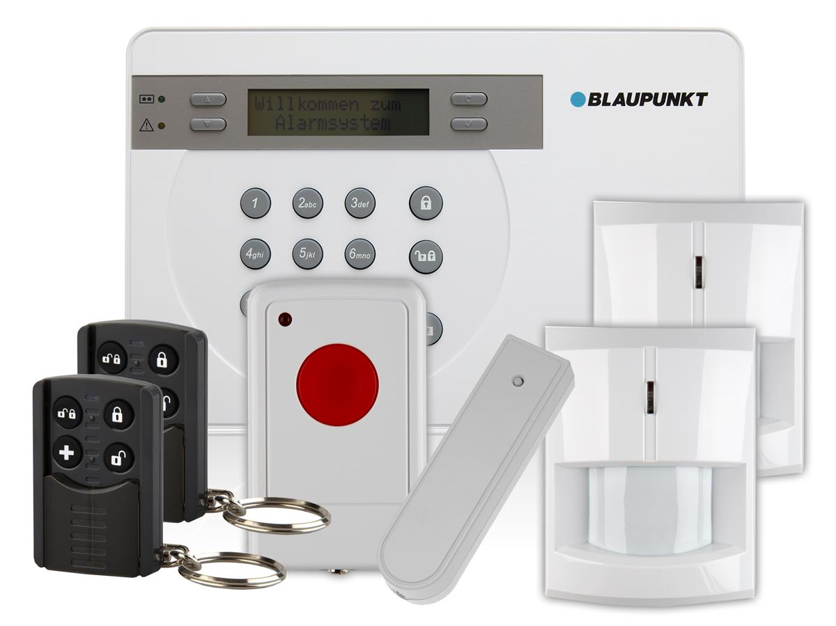 blaupunkt wireless diy home security alarm system kit